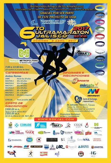 6to ULTRA MARATON JALISCO 50KM