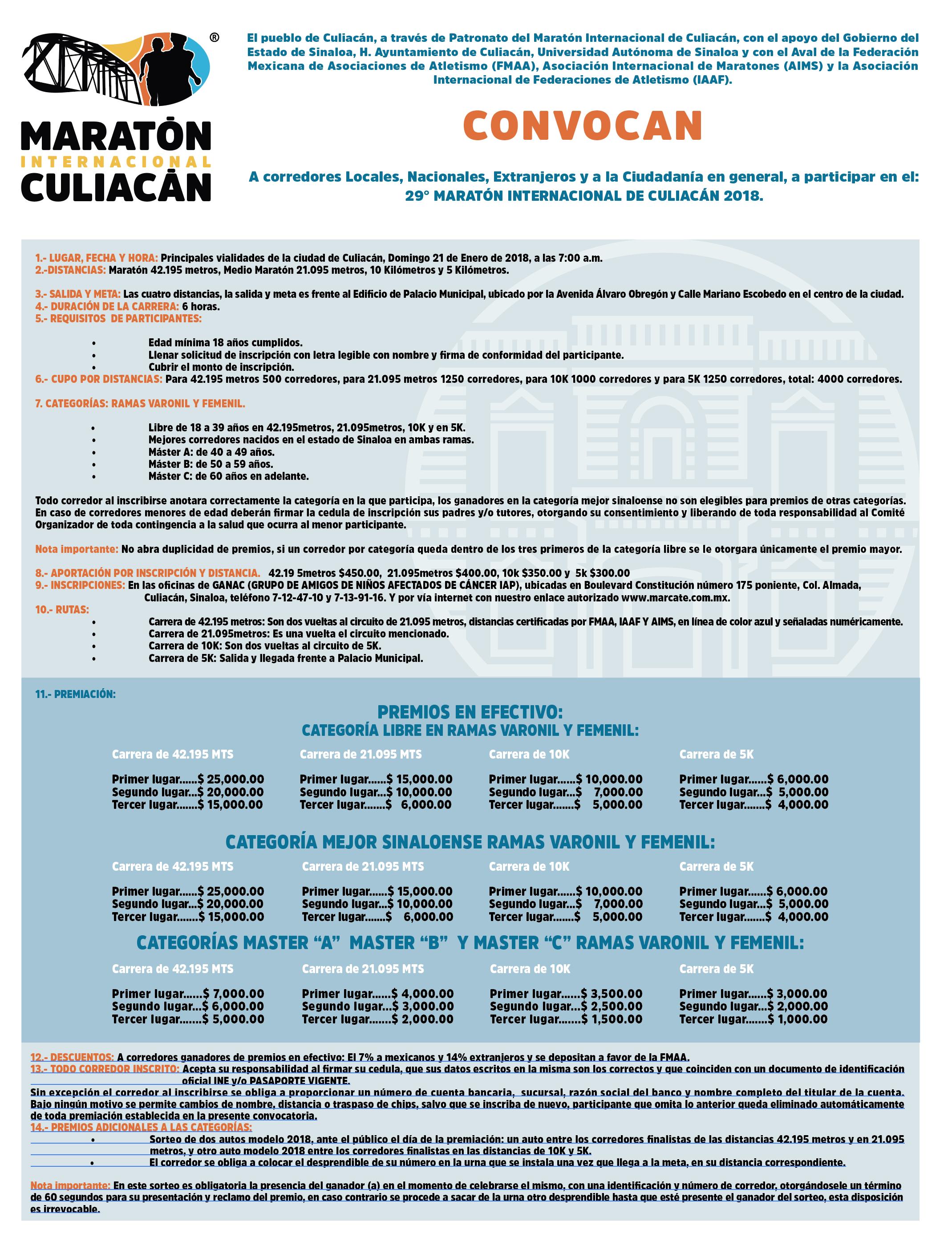 XXIX Internacional de Culiacán 2018