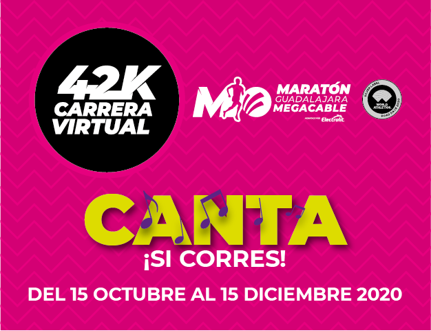42K Virtual Maratón Guadalajara Megacable