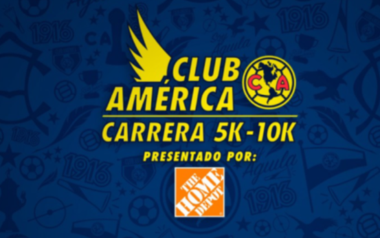 Carrera Club America 5K y 10K 2018