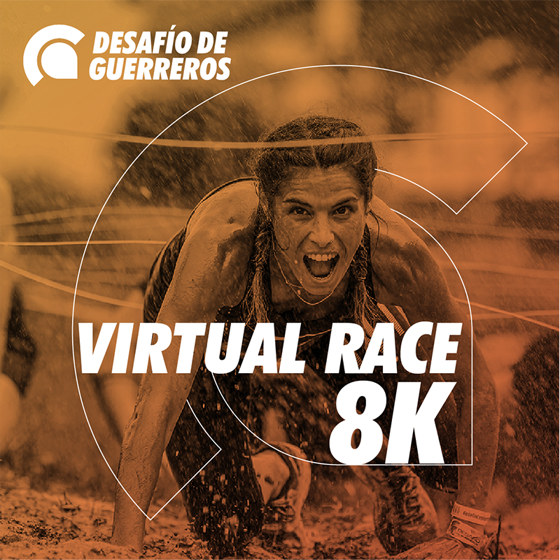 Desafío de Guerreros Virtual Race 8K