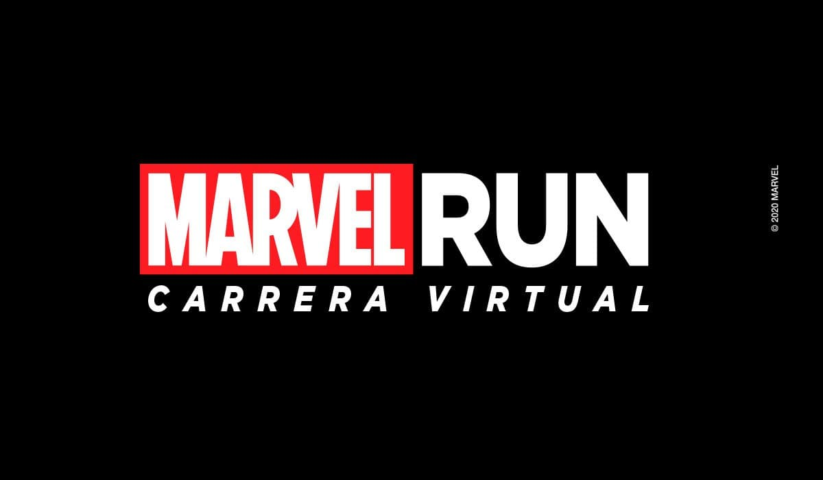MARVEL RUN Carrera Virtual - Black Widow